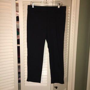 LOFT Black - The Riviera Pant